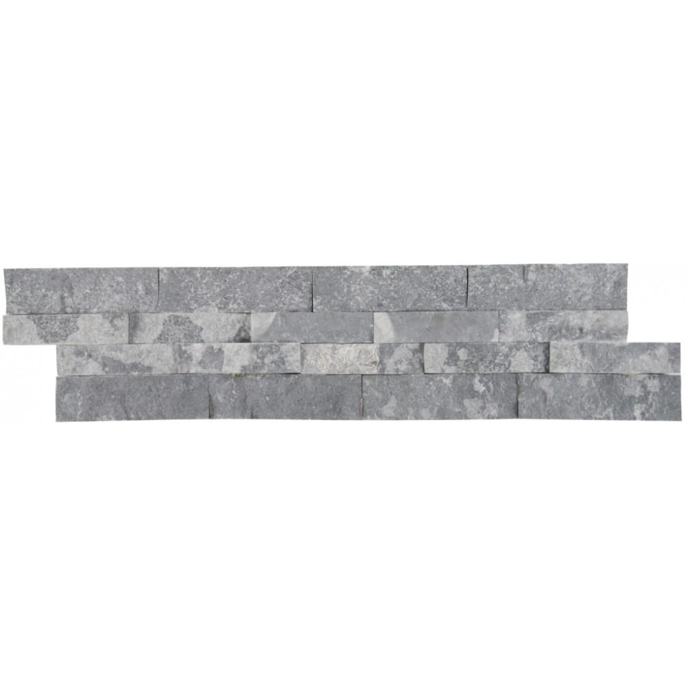 Glacial Grey 6X24 Split Face Ledger Panel