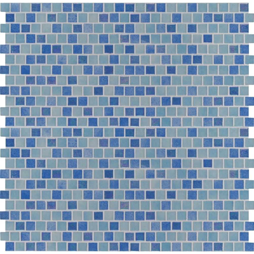 Hawaiian Coast 1X1 Staggered Glass Mosaic