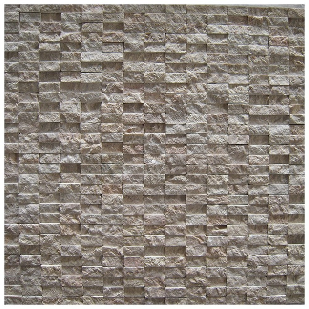 Emperador Light 12x12 Rustic Split Face