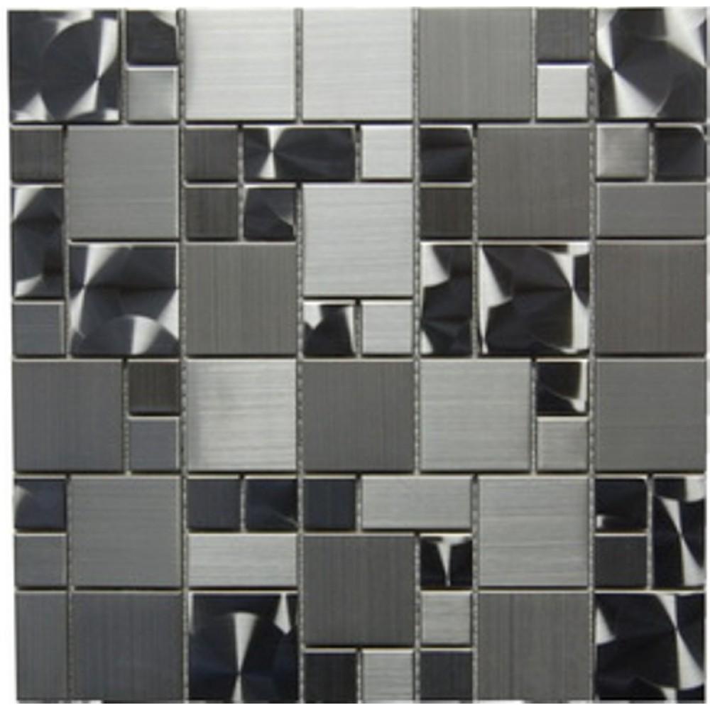 Stainless Steel 12x12 Magic Pattern Mosaic