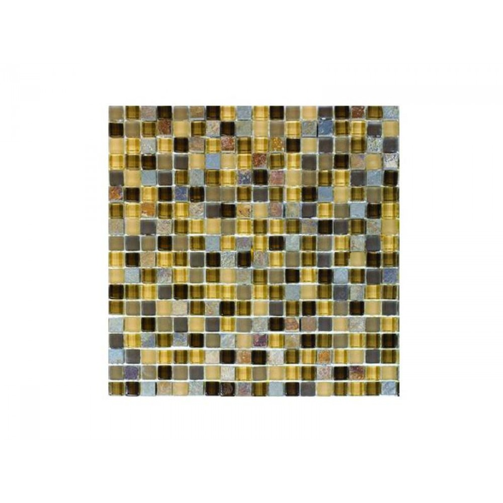 Hempsford Glass Mix 5/8x5/8 Mosaic