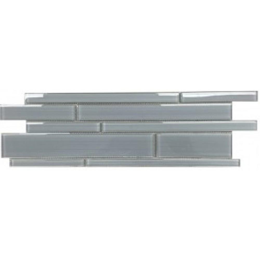 Ice Denim 6x18 Glass Mosaic