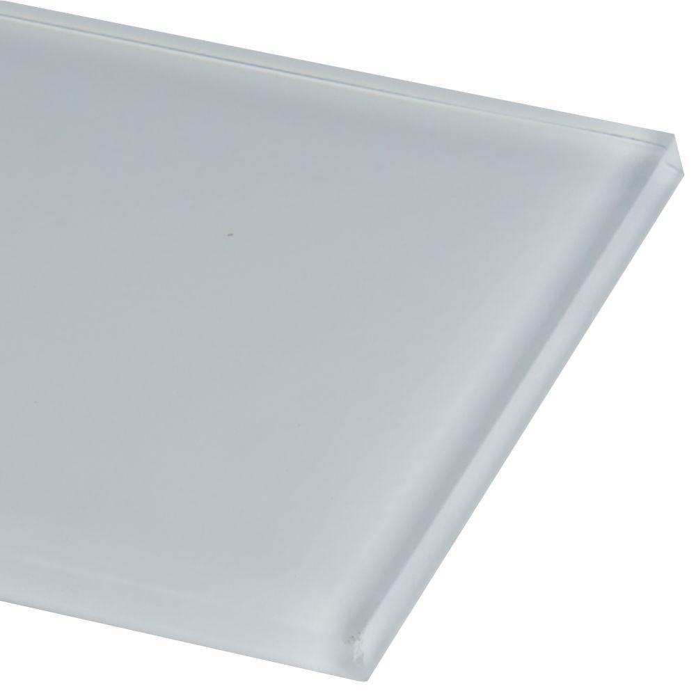 Ice Glass 4x12 Subway Tile