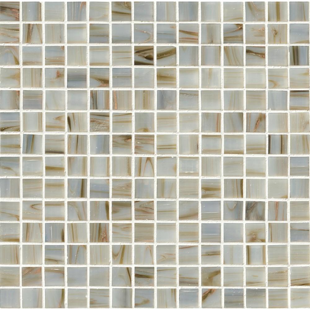 Ivory Iridescent 3/4x3/4 Mosaic