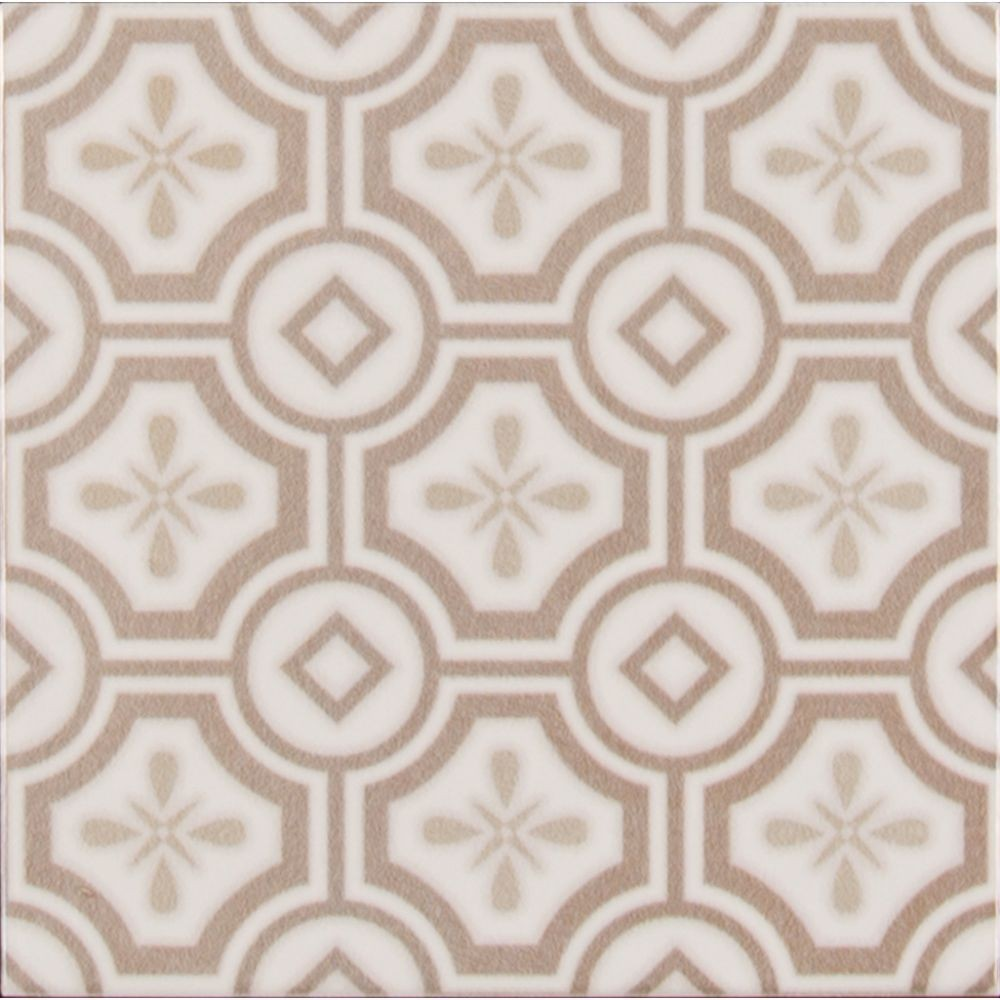 Kenzzi Leira 5.2x5.2 Glossy Subway Ceramic