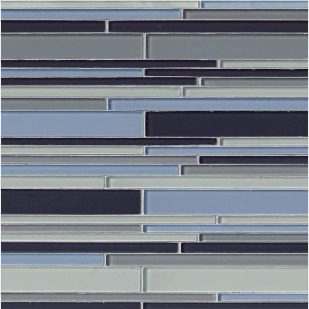 Key Largo Interlocking Blend Pattern Mosaic
