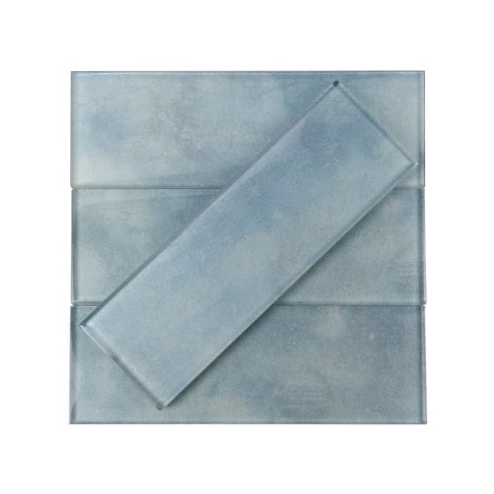 Light Blue 3x9 Glass Subway Tile
