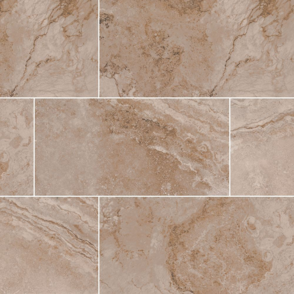 Napa Noce 12x24 Matte Ceramic Tile Backsplash Tile Usa