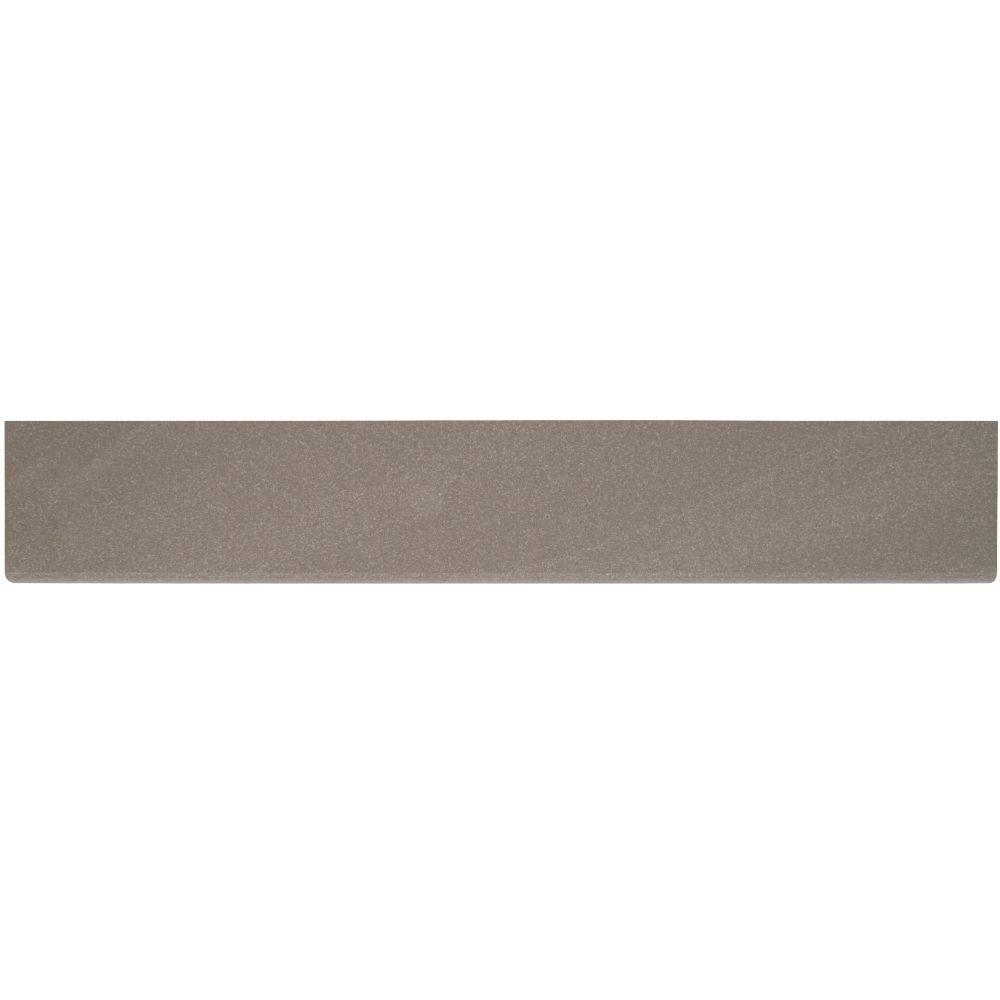 Optima Olive Bullnose 4x24 Matte Porcelain Tile