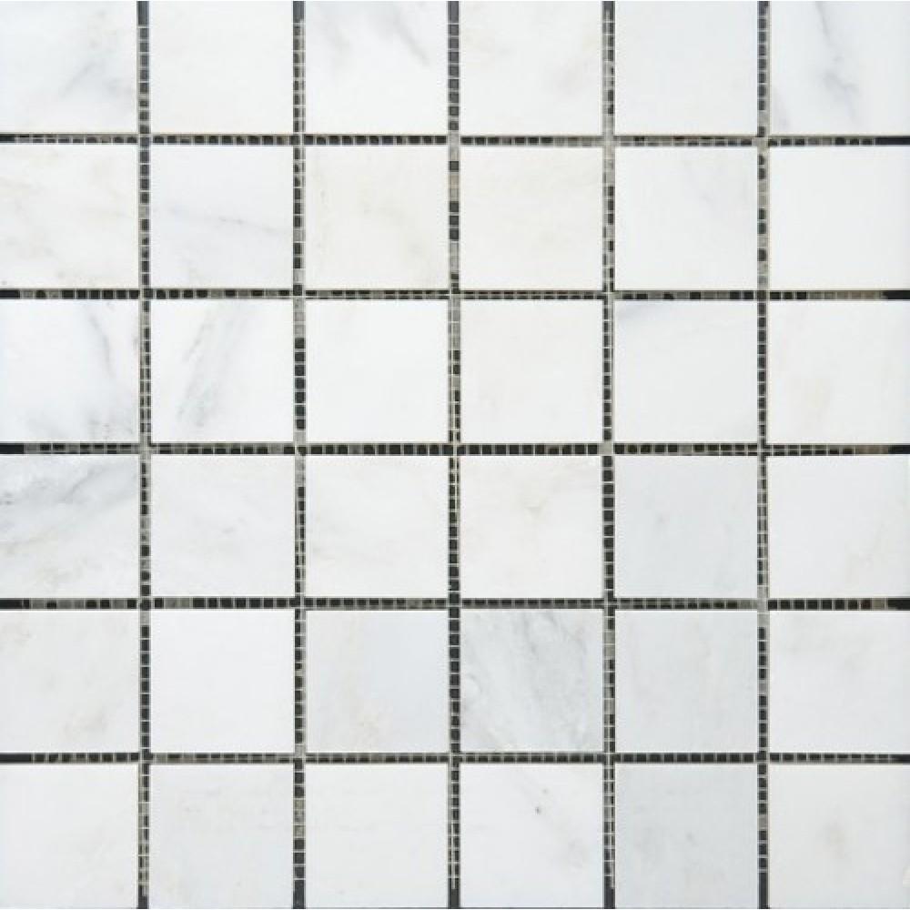 Oriental White 2X2 Polished Mosaic