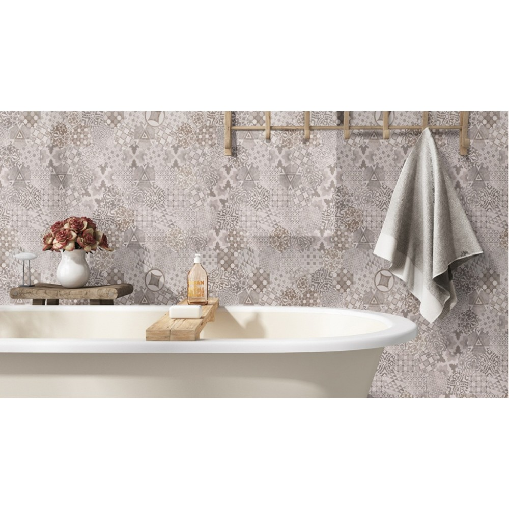 Patternia Hexagon 7X8 Matte Ceramic Wall Tile