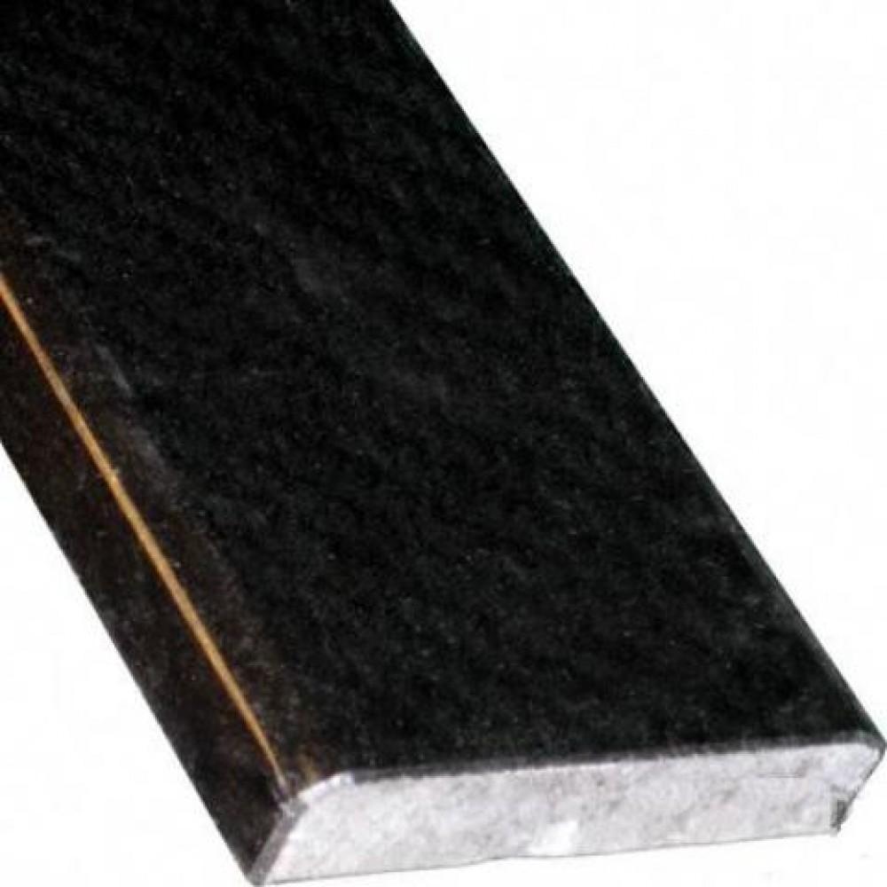 Premium Black Threshold 4X36 Double Beveled