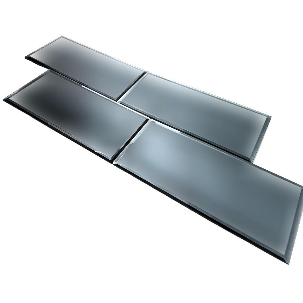 Reflections Graphite 8X16 Matte Glass Tile