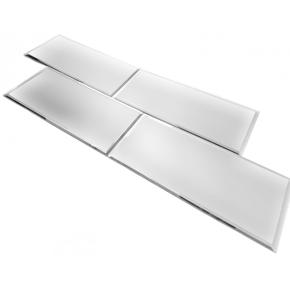 Reflections Silver 8X16 Matte Glass Tile