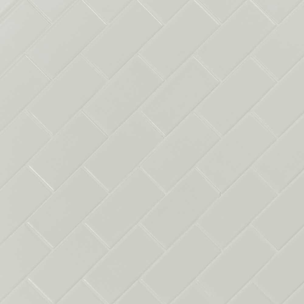Retro Bianco 2X4 Matte Porcelain Subway Tile