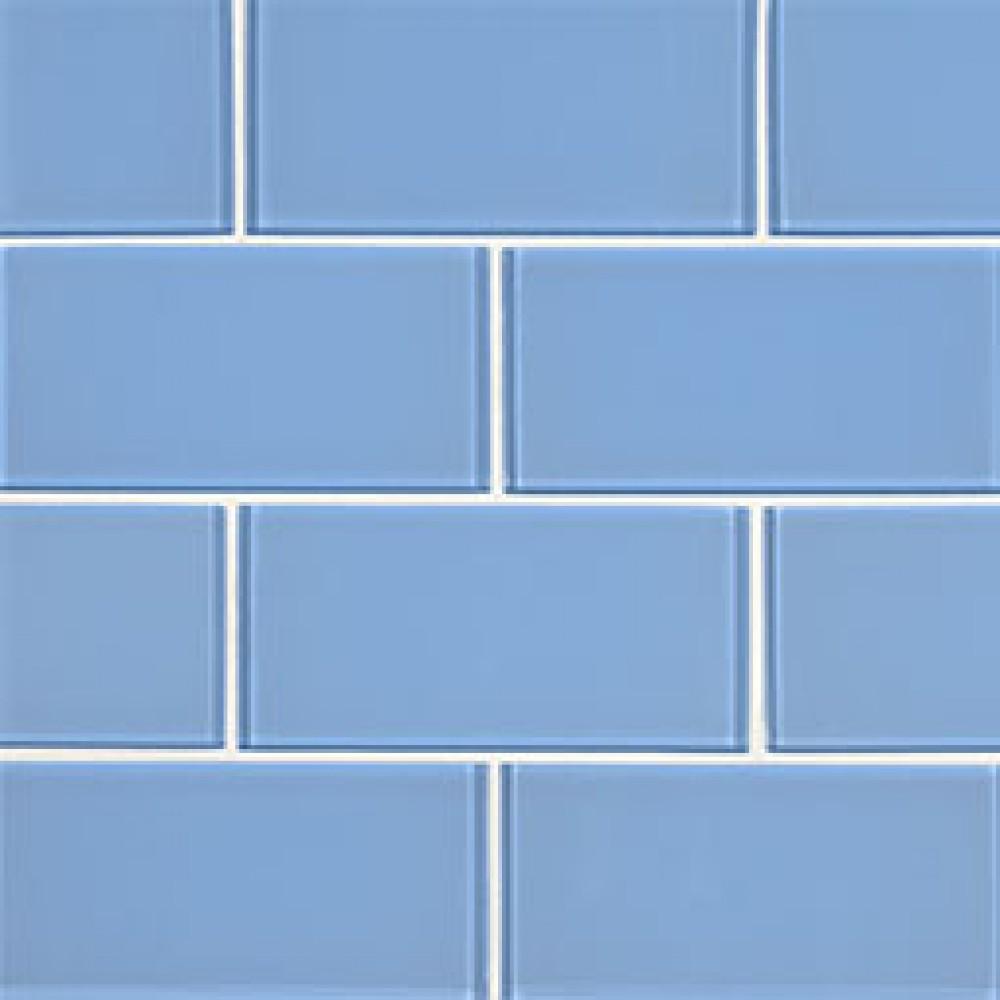 Royal Azure Glossy 3X6 Glass Subway Tile