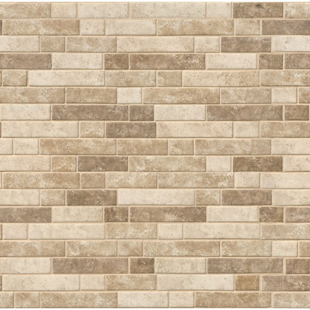 Sandhills Interlocking Pattern Recycled Glass Mosaic