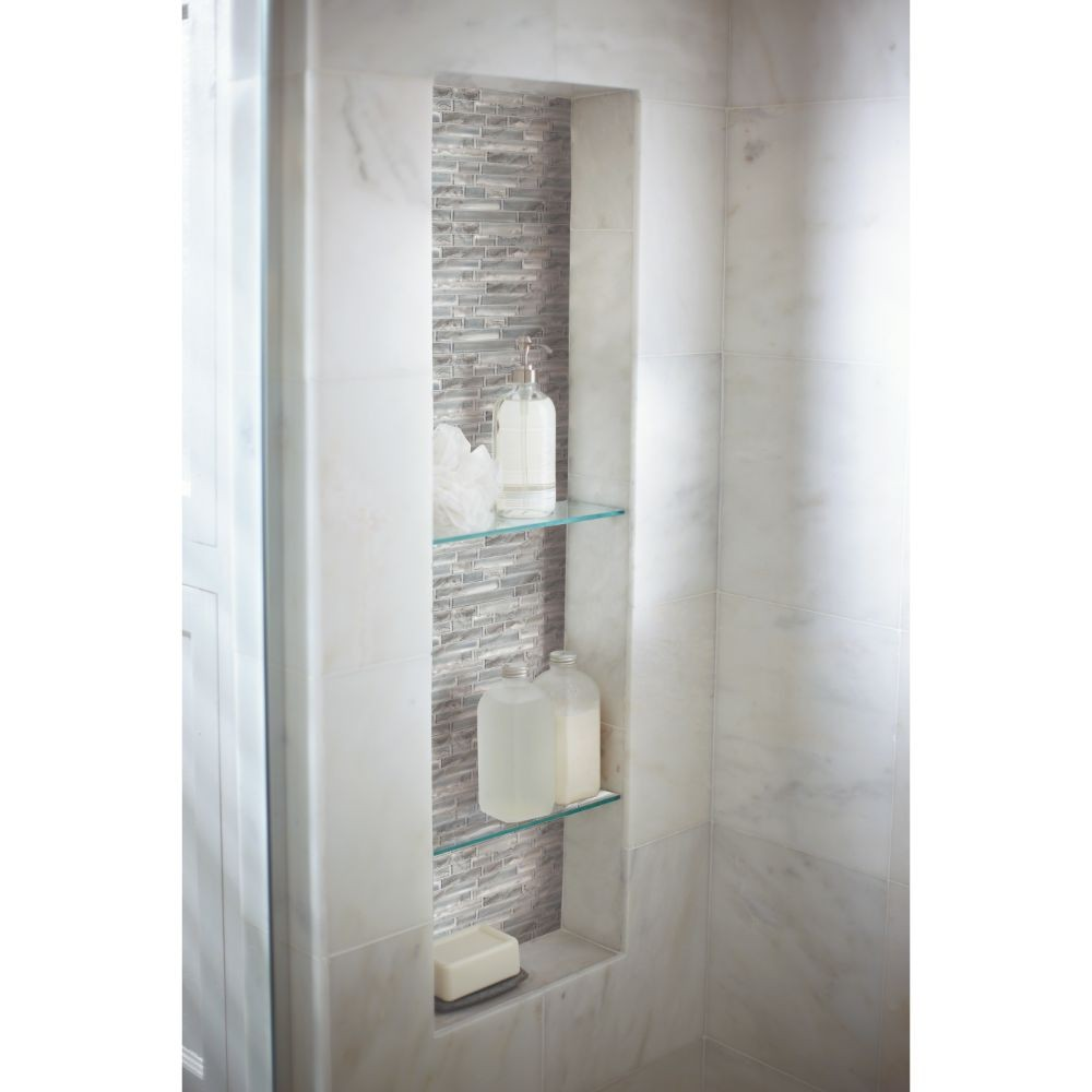 Silver Canvas 8mm Interlocking Crystallized