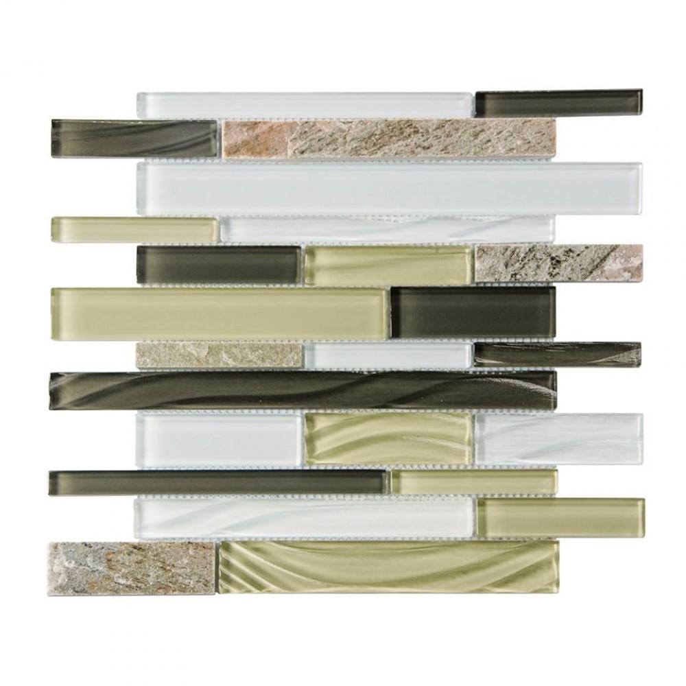 Silver Lagoon Blend 12 x 12 Mosaic