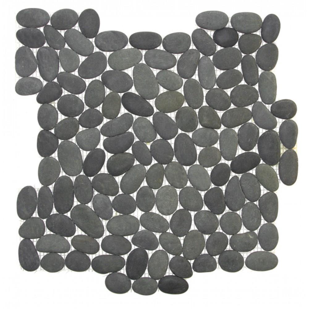 Tahiti 12X12 Interlocking Tumbled Pebble Tile