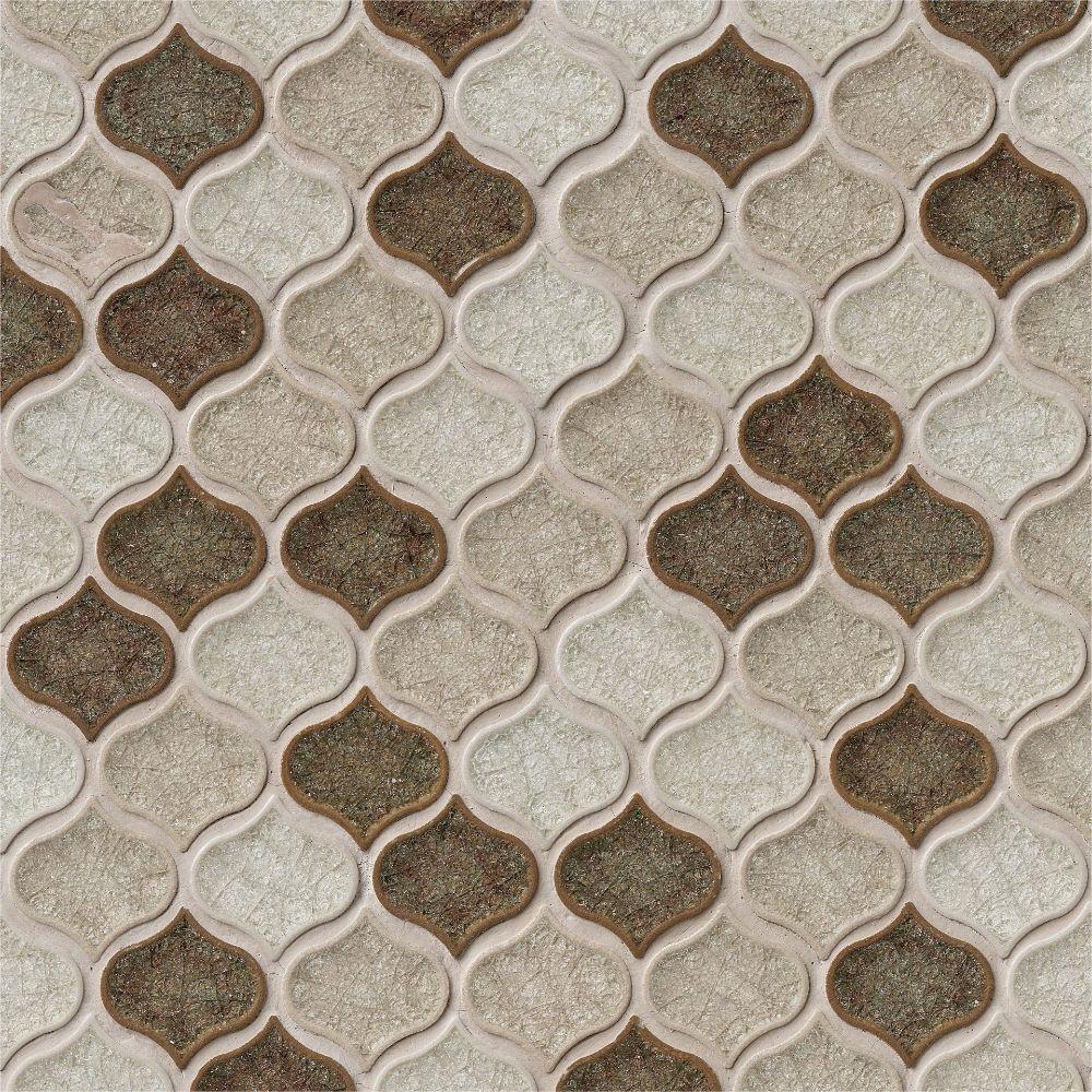 Taza Blend Lantern Pattern 8mm Glass Mosaic