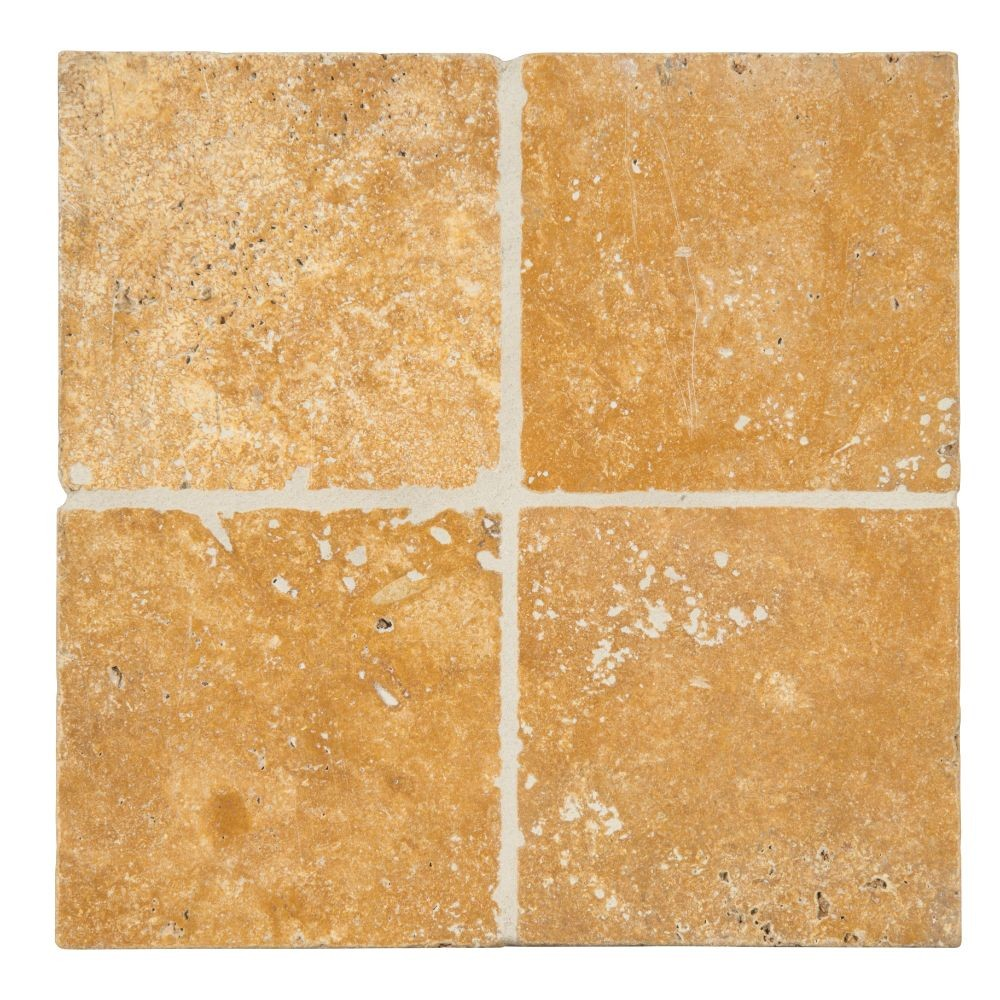 Tuscany Gold 6X6 Tumbled