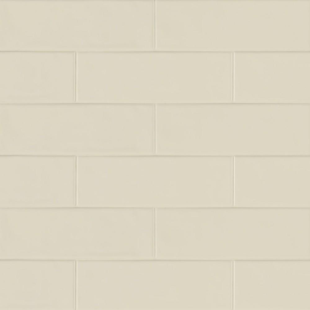 Urbano Pure 4x12 Glossy Ceramic Subway Tile
