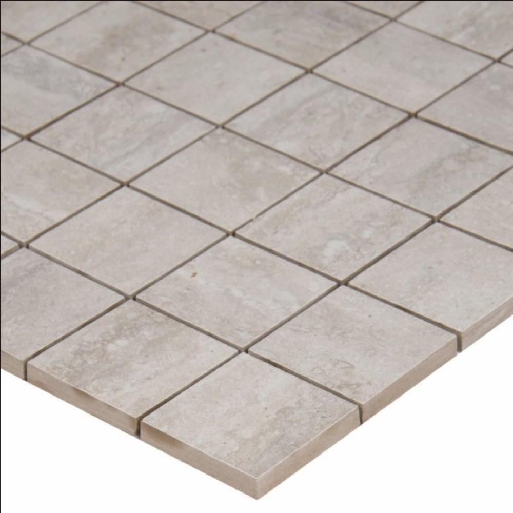 Veneto White 2X2 Mosaic