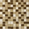 Taupe Town 1x1 Polished Mosaic
