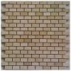 Crema Marfil Interlocking Mini Brick Polished