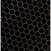 Domino Black 2X2 Hexagon Matte Porcelain Tile