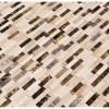 Emperador Blend Splitface Peel And Stick Wall Tile