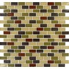 Everglade Mini Brick Pattern Crystallized