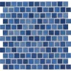 Hawaiian Sky 1X1 Staggered Glass Mosaic