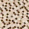 Ibiza Blend 1X1X8mm Glass Stone Mosaic