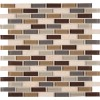 Luxor Valley Brick Pattern 8MM Mosaic