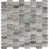 Savoy Picket Pattern Inkjet Glass Mosaic