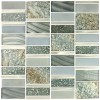 Silver Sea 12x12 Glossy Imperial Collection Mosaic