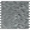 Winter Grey Brick 1x2 Brick Glass Mosaic