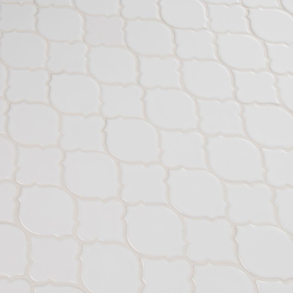 Denali Pattern 8mm Glossy Ceramic Tile