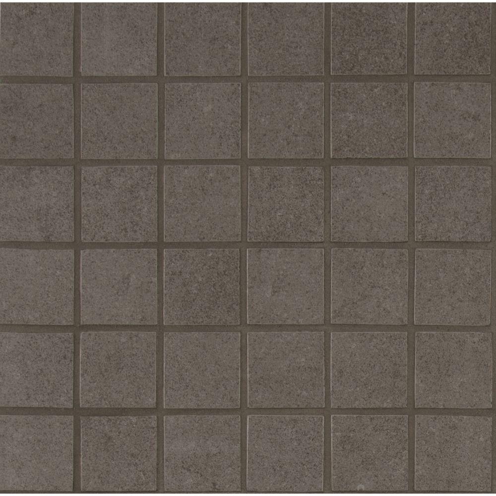 Dimensions Gris 2x2 Matte Porcelain Tile Backsplash Tile Usa