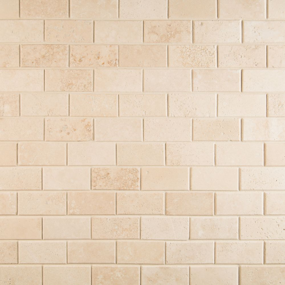 Durango 2x4 Honed and Beveled Subway Tile