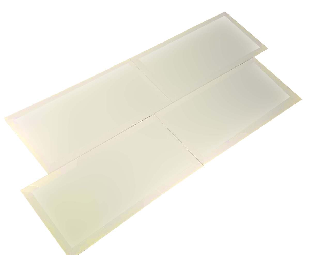 Frosted Elegance Cecilia 8x16 Glass Tile