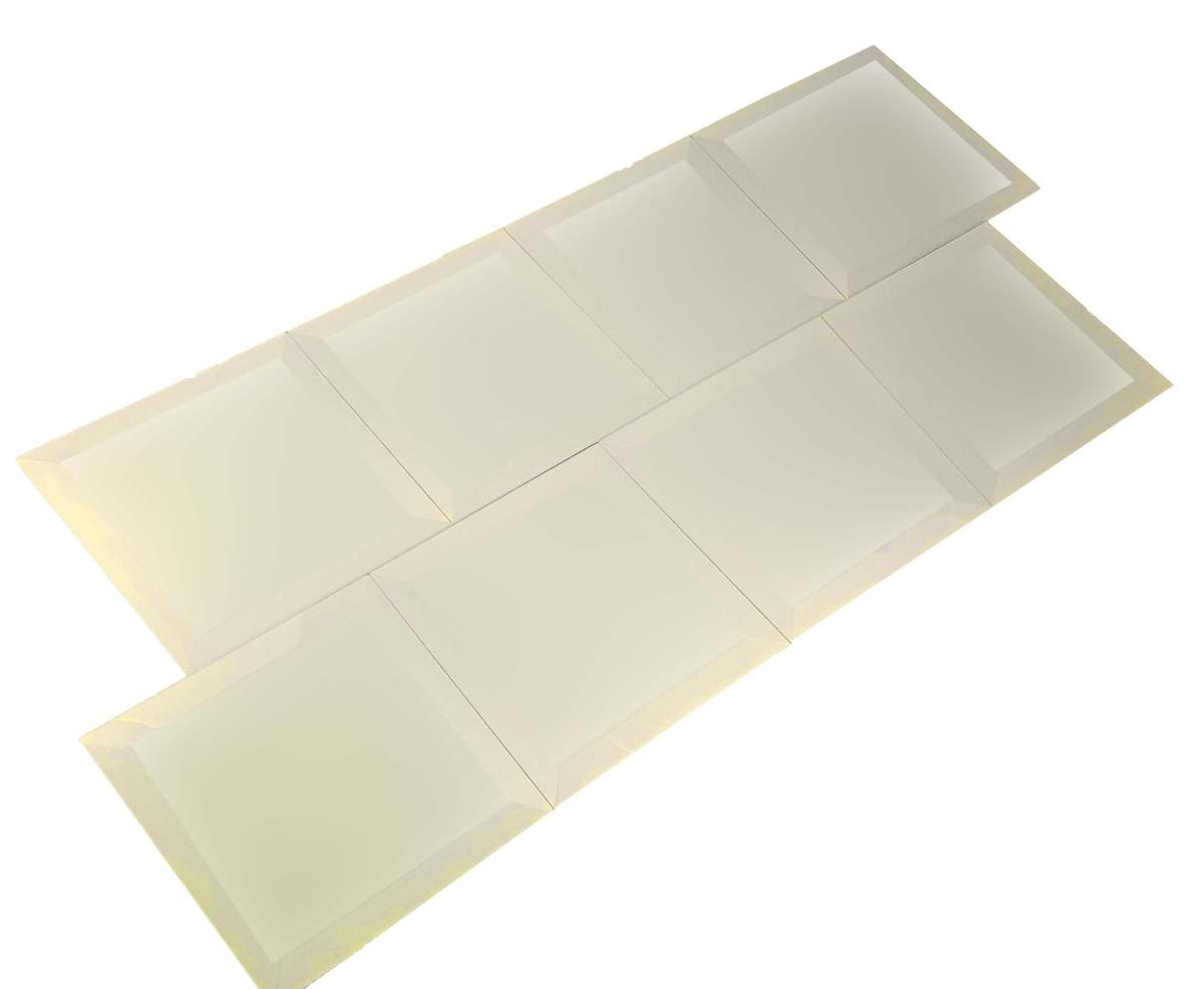 Frosted Elegance Cecilia 8X8 Glass Tile