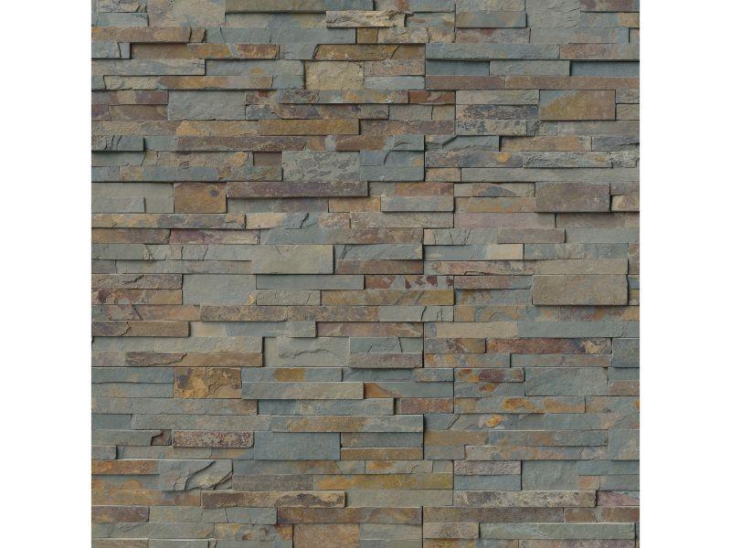 Gold Rush 6X12X6 Split Face Corner Ledger Panel