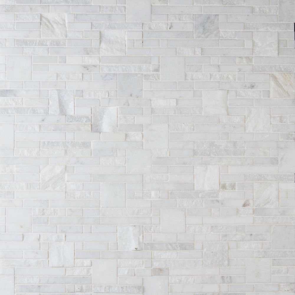 Greecian White Opus Pattern Mosaic