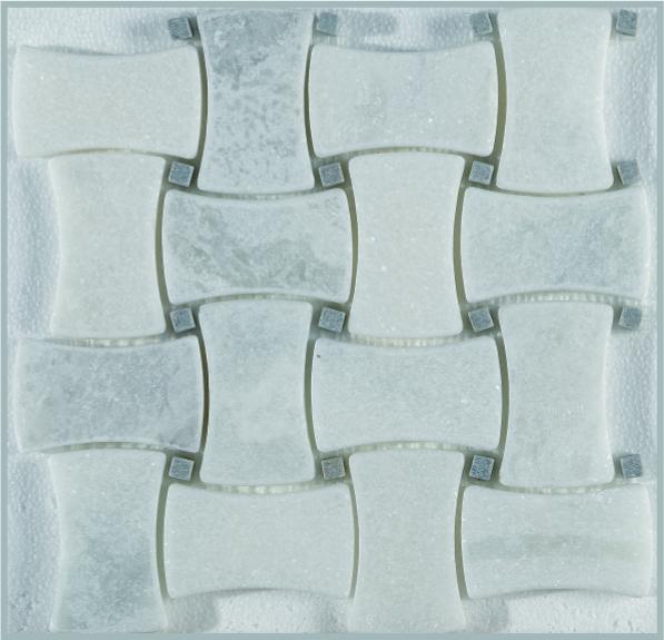 White Cloud 2x4 Basket weave