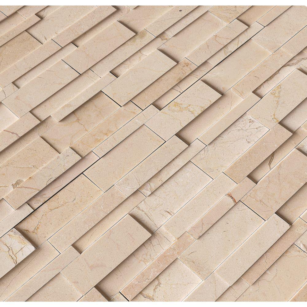 Hedron Interlocking 3D Polished Pattern Mosaic