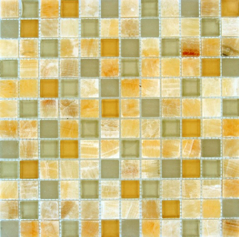 Honey Ivory Onyx Blend 1x1x8MM