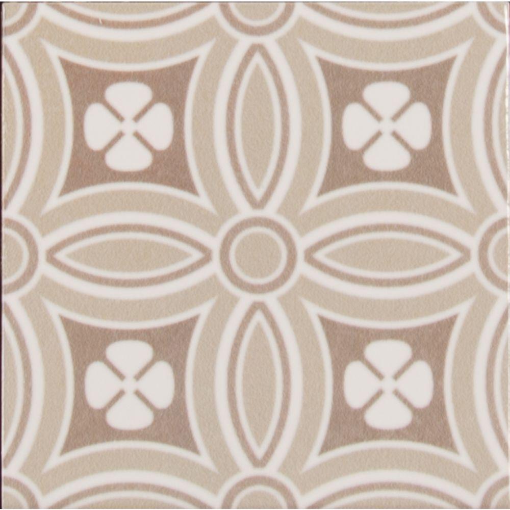 Kenzzi Dekora 5.2x5.2 Glossy Subway Ceramic